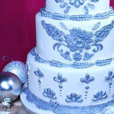 Spectaculaire bruidstaart