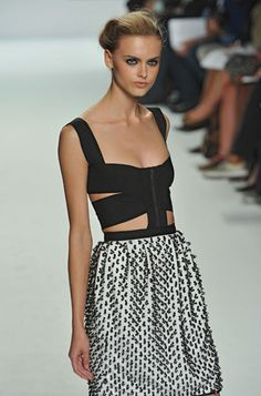 Narciso Rodriguez RTW 09. Like the top part, not the bottom, change it out to something prettier :)