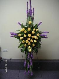 cross+funeral+sprays | Spray Cross