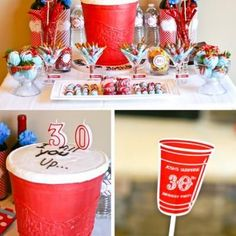 Red Solo Cup Theming