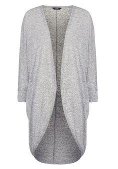 Clothing at Tesco | F&F Long Line Slub Cardigan > knitwear > Knitwear > Women
