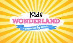 Tickets for Kids Wonderland 2018 in Stirling from Ticketbooth