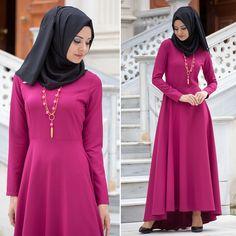 NEVA STYLE - DRESS - 4055F #hijab #naylavip #hijabi #hijabfashion #hijabstyle #hijabpress #muslimabaya #islamiccoat #scarf #fashion #turkishdress #clothing #eveningdresses #dailydresses #tunic #vest #skirt #hijabtrends