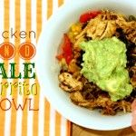 Crockpot Meal: Chicken and Kale Burrito Bowl {Dairy and Gluten Free} | Foodie Fresh