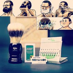 Není nad břitvu, pro opravdové muže#holení#oholteho#dalšípánnaholení #manboxeo
