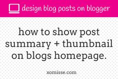Show-post-excerpts-with-thumbnail-on-your-blog