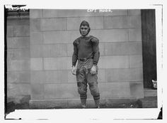 Captain Benjamin Fiery Hoge (d. 1985) of the United States Military Academy (West Point) football team.