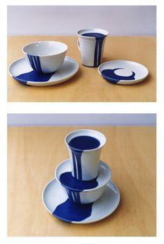 Gustaf Nordenskiöld Ceramics. This is so cool, overflowing glaze.