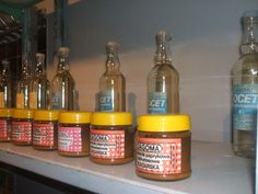 Today at our store we offer one brand of vinegar and mustard only. Tomorrow will be the same.
