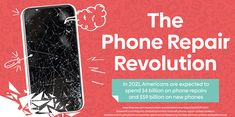 The Phone Repair Revolution [Infographic] Broken Phone, Smartphone Price, Writing Contests, Fix You, New Phones, Good Company, Physical Activities, Protective Cases, Online Marketing
