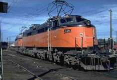 This was the Milwaukee Road's boxcab electric,