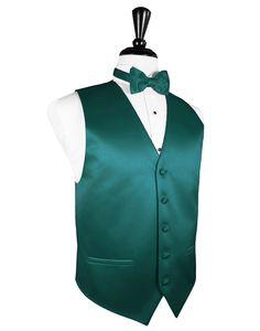 Jade  Premier  Satin Tuxedo Vest