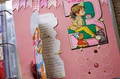 are those stitched honeycomb/hexagons?  love it  My 3rd Birthday by Noell, via Flickr ...