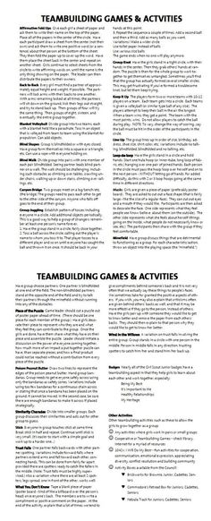 Group Games For Kids Teamwork Team Building Exercises 56 Super Ideas Leadership Activities, Therapy Activities, Team Activities, Physical Activities, Movement Activities, Student Leadership, Bonding Activities, Grammar Activities, Leadership Coaching