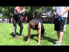 Chris Fit Beats Pushup Challenge at Spokane Hoopfest 25