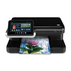 HP Photosmart eStation All-in-One (CQ140AB1H) Print at your convenience-whether it's from across town or across the room-using HP ePrint.. Access and print, using apps for Yahoo!, Facebook, and Snapfish.. Browse the latest e-book bestsellers or old favorites, using the wireless touchscreen.. Now AirPrint compatible. Simply print from iPhone, iPad, and iPod Touch.. Use customized apps to quickly ge... #HP #CE