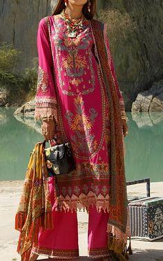 Magenta Lawn Suit   Buy Rang Rasiya Pakistani Dresses and Clothing online in USA, UK Pakistani Lawn Suits, Pakistani Dresses, Turquoise Suit, Fashion Pants, Fashion Dresses, Rang Rasiya, Suits Online Shopping, Add Sleeves, Buy Rings