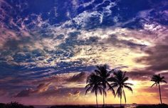 The big sky as the clouds roll by.  Courtesy of FtLauderdaleSun