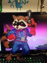 Image result for guardians of the galaxy perler