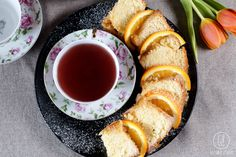 gotować! - Keks pomarańczowy