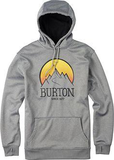 Burton Crown Bonded Hoodie - Men's Snowboard Hoodie - Gift Idea - Hoody - Snowboarding - 2014 -  Christy Sports