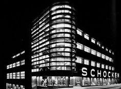 Resultado de imagem para erich mendelsohn loja de departamentos schocken