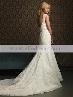 allure 8770 lace gown bridal