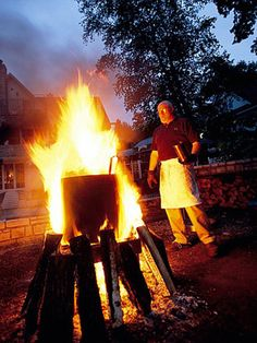 Door County, Wisconsin FISH BOIL! - 25 Coolest Midwest Lake Vacation Spots