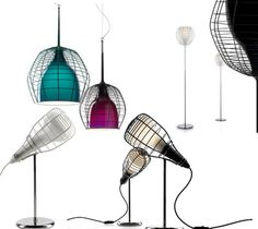 Cage lamps by Diesel