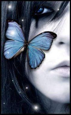 dark butterfly fairy