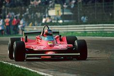 No opposite lock? 312T4 - Gilles Villeneuve.