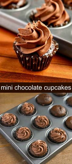 Mini Chocolate Cupca