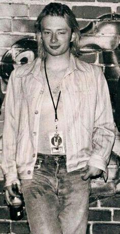 Thom Yorke - #Radiohead - LA, June 1993 © Lester Cohen