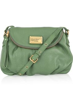 pale green Marc by Marc Jacobs bag  <3