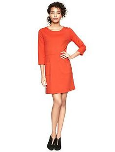 I am obsessed with this dress. Because! ORANGE!