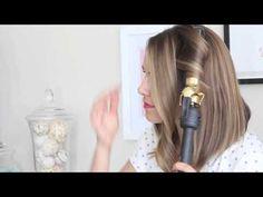 Amazing Beauty DIY: Get Wavy Loose Curls for Short to Medium Hair - hair tutorials Loose Curls Hairstyles, Diy Hairstyles, Pretty Hairstyles, Short Hair Waves, How To Curl Short Hair, Loose Curls Medium Length Hair How To Do, Soft Curls For Medium Hair, Wavy Curls, Medium Short Hair