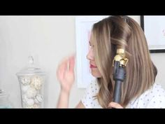 Amazing Beauty DIY: Get Wavy Loose Curls for Short to Medium Hair - DIY
