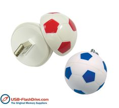 Football shaped USB Flash Drives