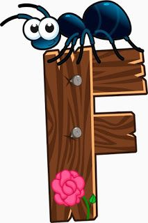 Escuela infantil castillo de Blanca: ALFABETO: LA GRANJA Wooden Animals, Farm Animals, Alfabeto Animal, Farm Animal Crafts, Alphabet Templates, Alphabet And Numbers, Alphabet Letters, Animal Alphabet, Wood Letters
