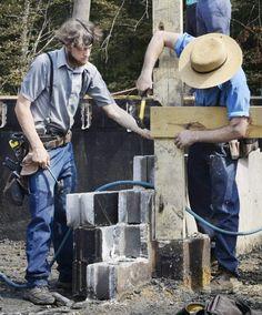Amish carpenters