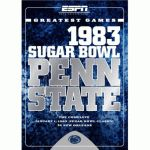Espn Greatest Games: Penn State 1983 Sugar Bowl