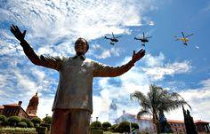 Nelson Mandela Statue in Pretoria