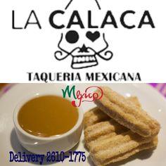 Adeus ao frio! venha no #LaCalacaTaqueria Mexicana por uns #Churros con Doce de Leite! #unpedacitodeMexico #ComidaMexicanadeVerdade #Food