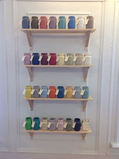 Carte Blanche Chalk Paint by Annie Sloan color display