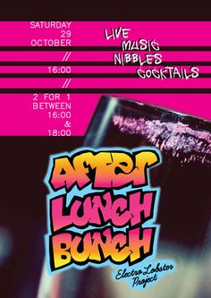 After Lunch Bunch at Electro Lobster Project | Restaurant | Bar | Lounge | Balluta Bay | Saint Julians | Malta