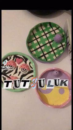 Ceramic Pottery, Pottery Art, Ceramic Art, Keramik Design, Clay Art Projects, Cute Clay, Fun Diy Crafts, Dry Clay, Polymer Clay Crafts