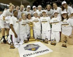 Let's hear for the UWGB Phoenix Women--Champs of the Horizon League tournament! A 66-53 victory over Detroit sealed their place in the NCAA tournament.  The women will learn their seed tonight during the selection show.