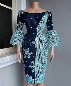 Fabulous Ankara Styles For Modern The Woman - Loud In Naija Ankara Dress Styles, Trendy Ankara Styles, African Lace Dresses, Latest African Fashion Dresses, African Dresses For Women, African Attire, African Wear, Kente Styles, Ankara Tops