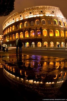 Colosseum ~ Rome, Italy  Eve Caram and I sponsored a writers retreat here a couple of years ago. Writers' heaven!