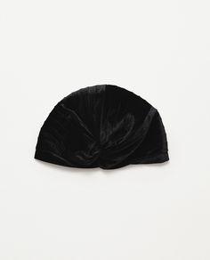 VELVET HAT - View all - Woman - NEW IN | ZARA France